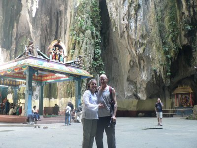 Batu Caves, best cliff i've seen turned into a Temple!!