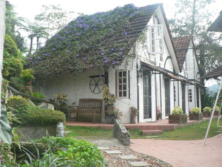 An old english style schoolhouse turned into a guesthouse!