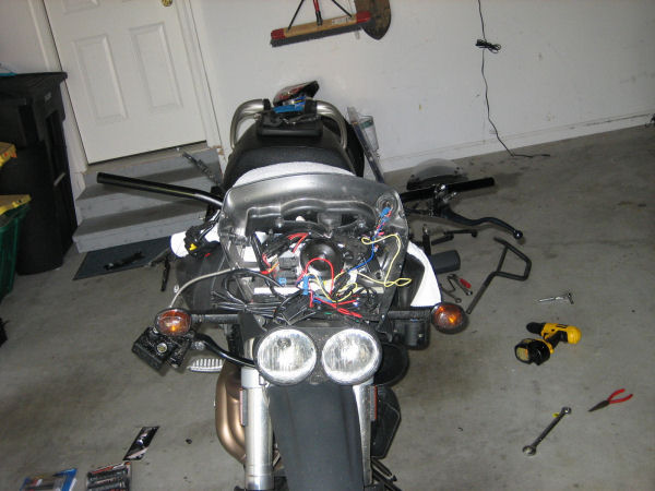 Buell Motorcycle Forum Pro Taper Install On The Ulysses