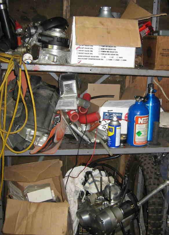 parts shelf