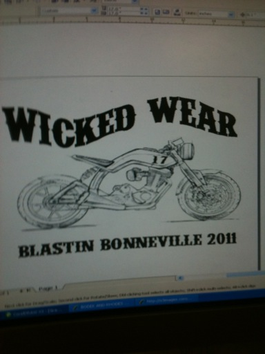 Wicked Wear Bonneviille Design