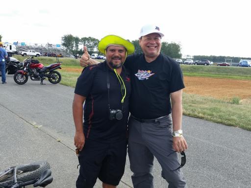 With Jose Quinones