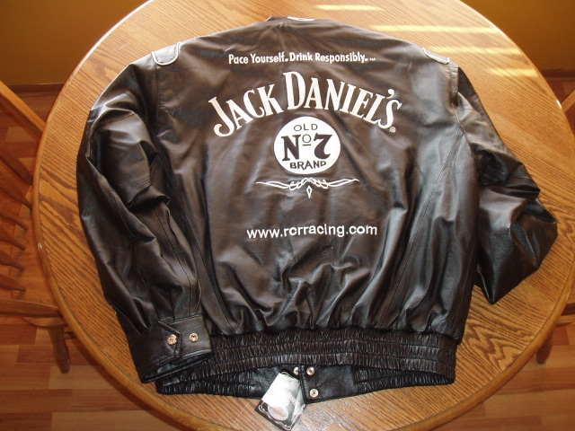 Buell Forum: Jack Daniels leather Nascar jacket