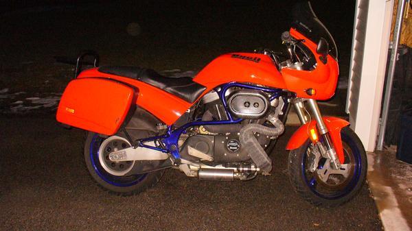 Buell Forum: 99 S3T Molten Orange/ Nuclear Blue 17,400 Mi ...