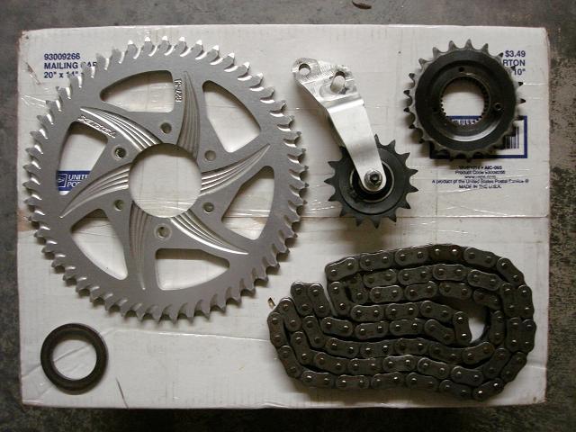 Buell Forum: Vortex chain conversion kit