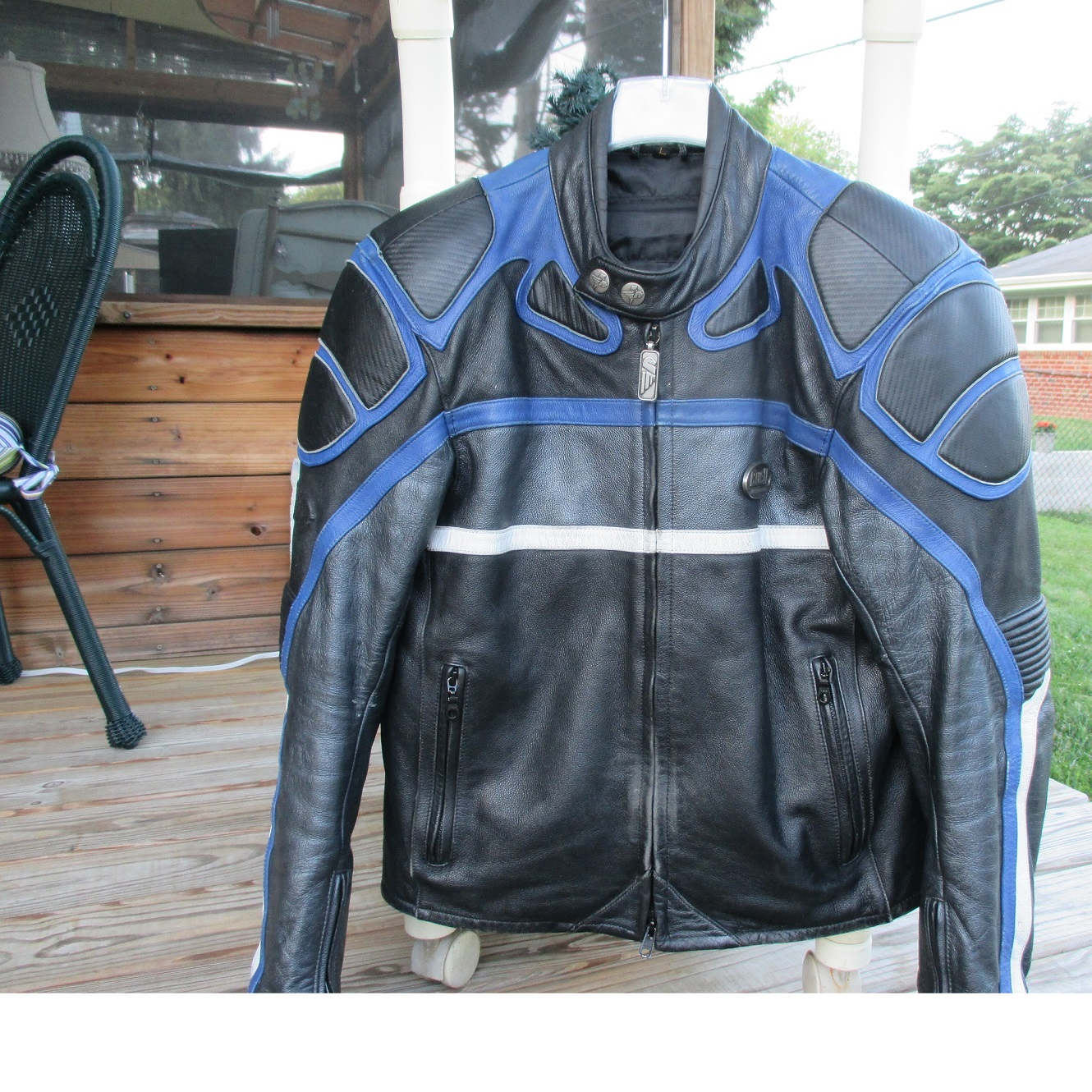 Buell leather jacket