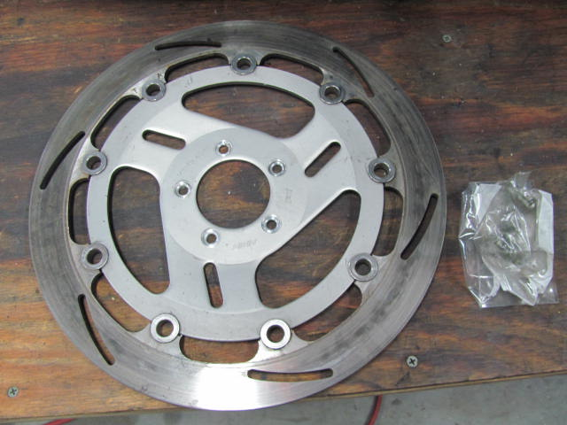 front rotor 1