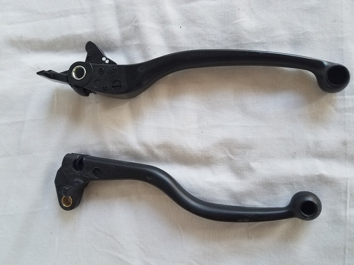 Stock levers other side