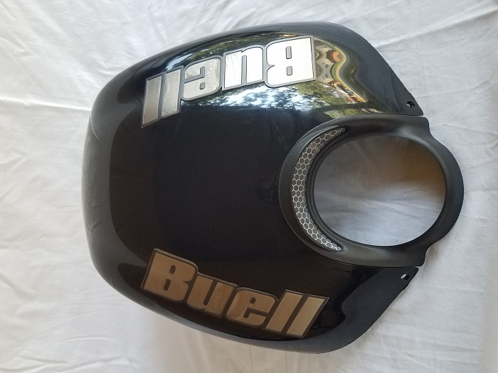 Black airbox cover