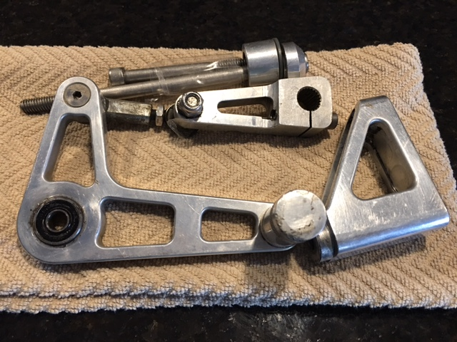 Banke Shift Assembly and Brake Lever