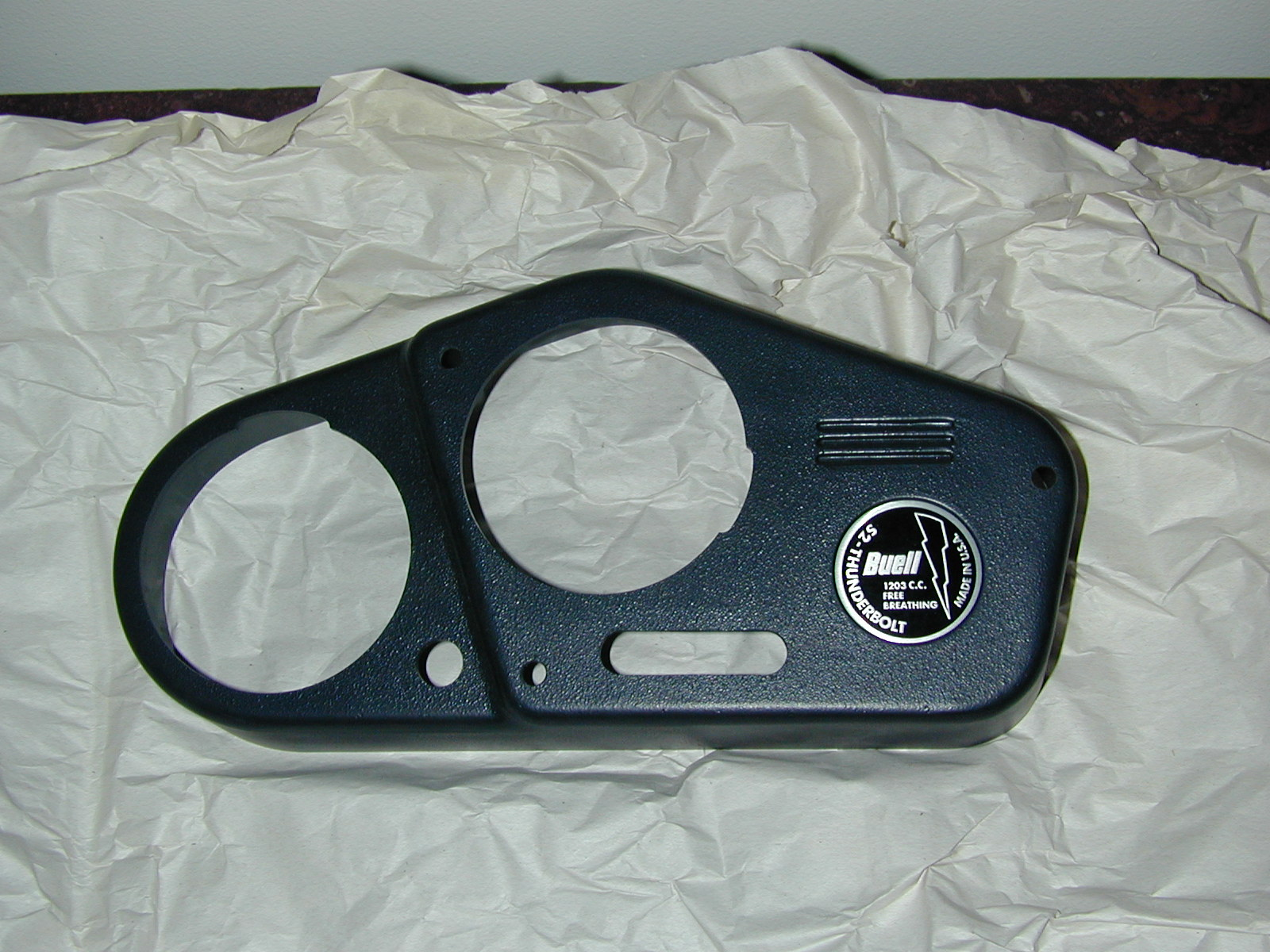 Buell S2 Dash Panel - Instrument Panel with Badge