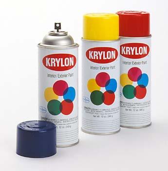 those of you who aren 39 t familiar krylon makes regular spray paint. Black Bedroom Furniture Sets. Home Design Ideas