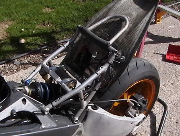 Buell Motorcycle Forum Race Sub Frame Onxb12s Lightning