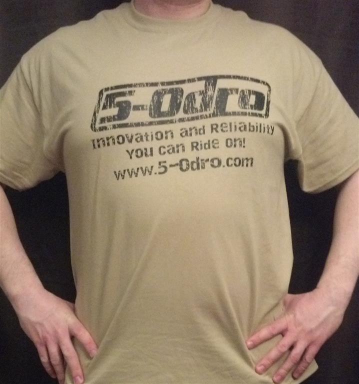 Free 5-0dro t-shirt