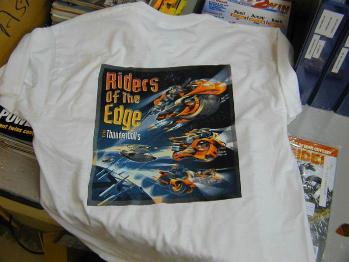 RIDERS OF THE EDGE