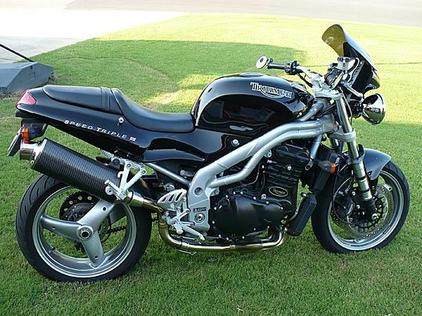 2000 Triumph Speed Triple 955i