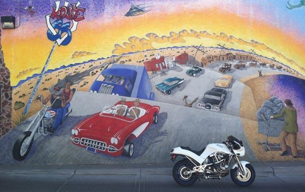 S2 Thunderbolt Mural
