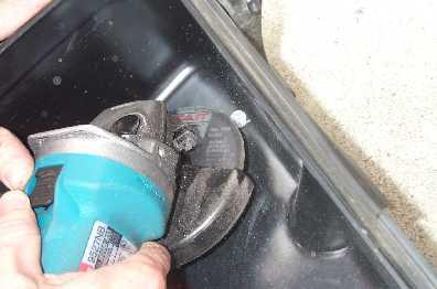 rivet grinding