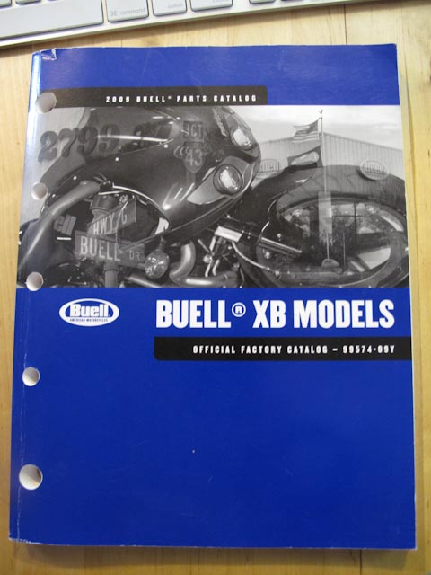 Buell Forum: Parts Manual for 2008 XB12 Ss ?