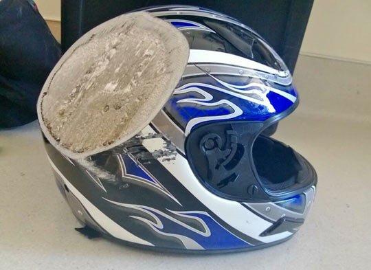 why you wear a helmet