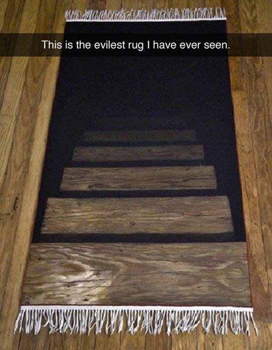 evil rug