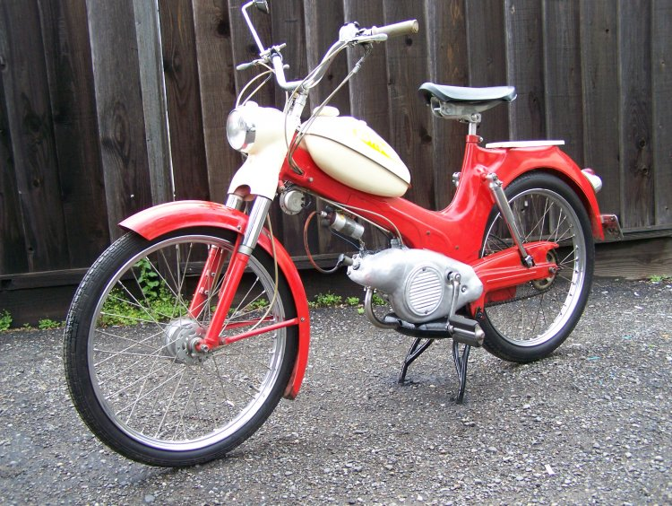 Sears moped