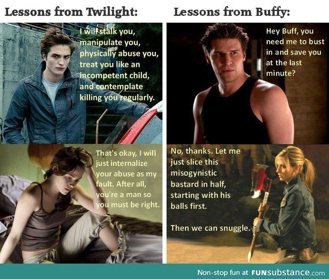 buffy vs twilight