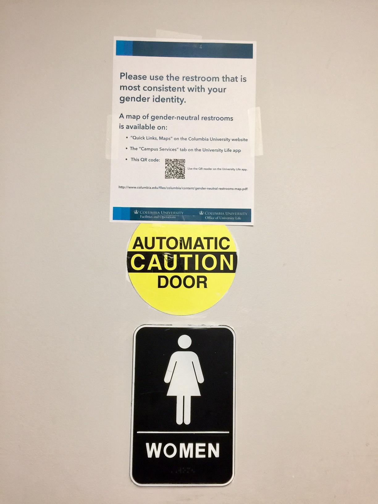 Bathroom Gender