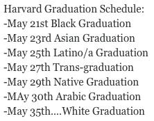 Harvard Graduation Ceremonies