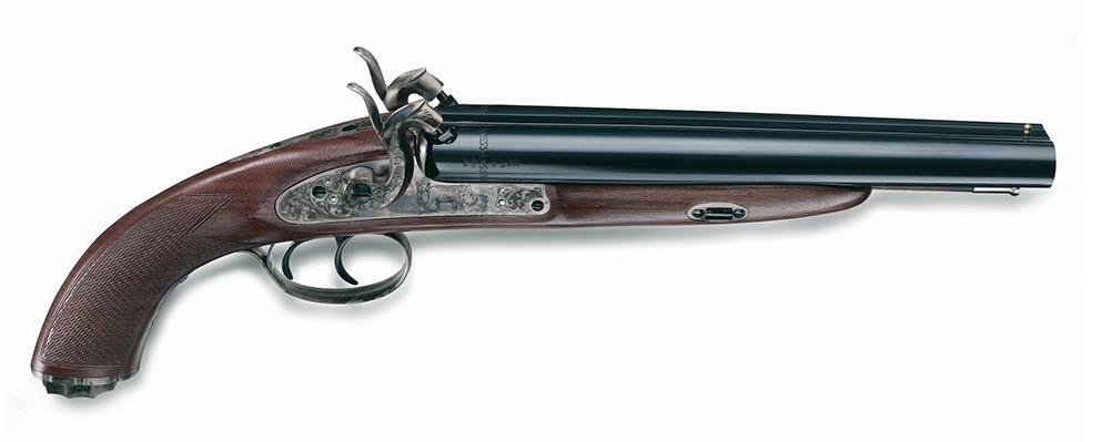 Howdah Gun (20 ga double barrel pistol)
