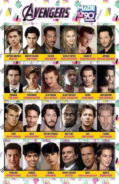 90s Avengers