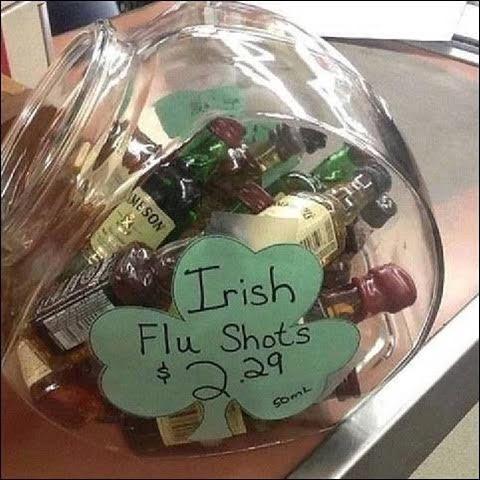 irish flue shots