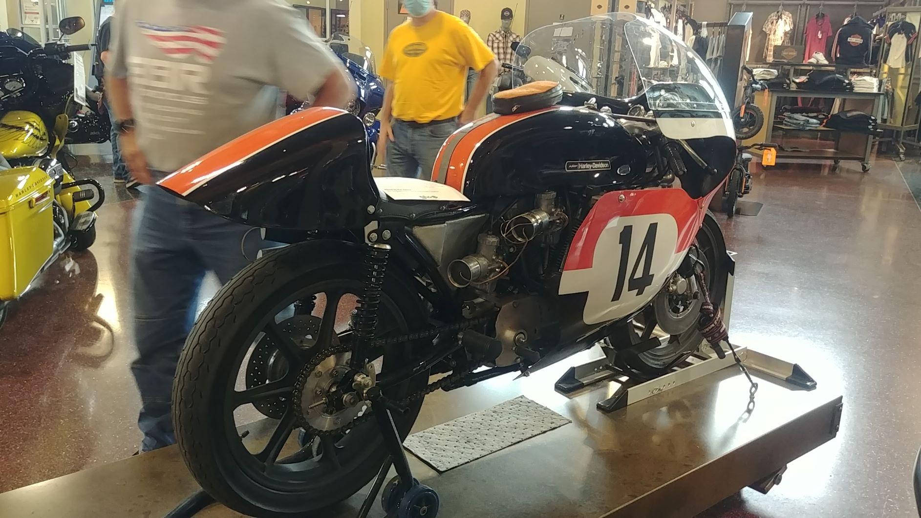 H-D race bike