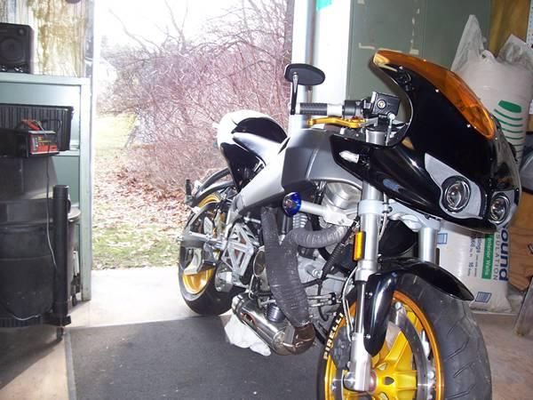 bike in winter project mode
