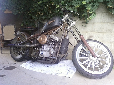 Custom Buell M2 Cyclone in Paughco Frame, Chain Conversion, RAT