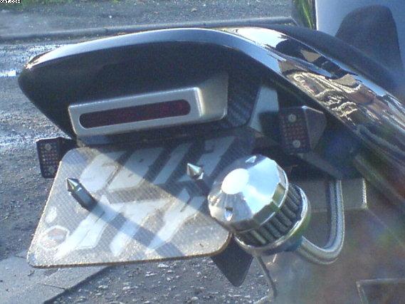 LED rear