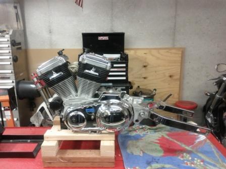 Buell Forum Engine Stand