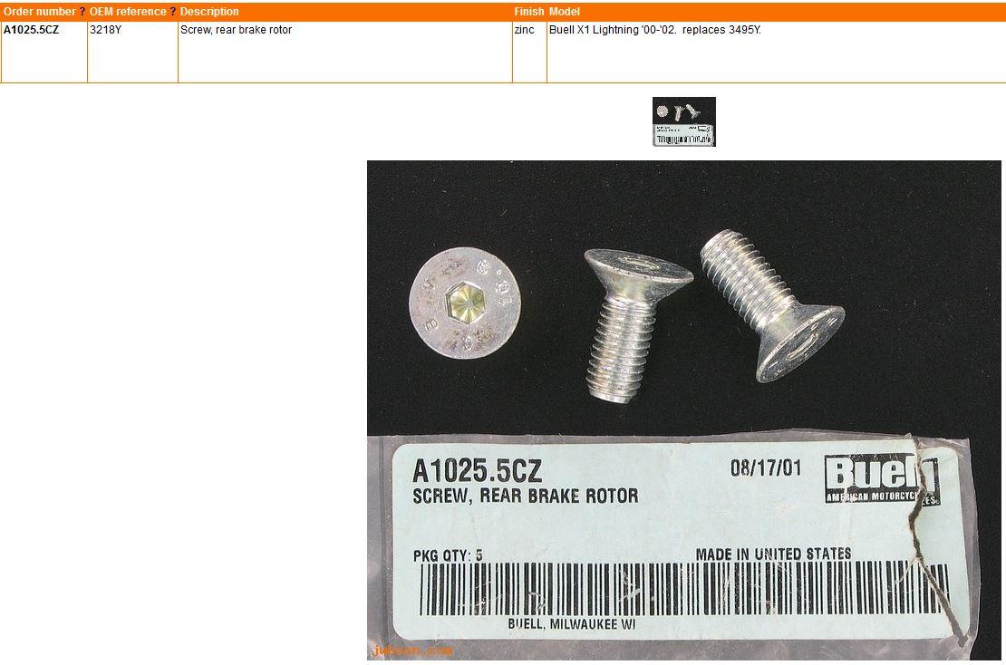 rotor screws 2