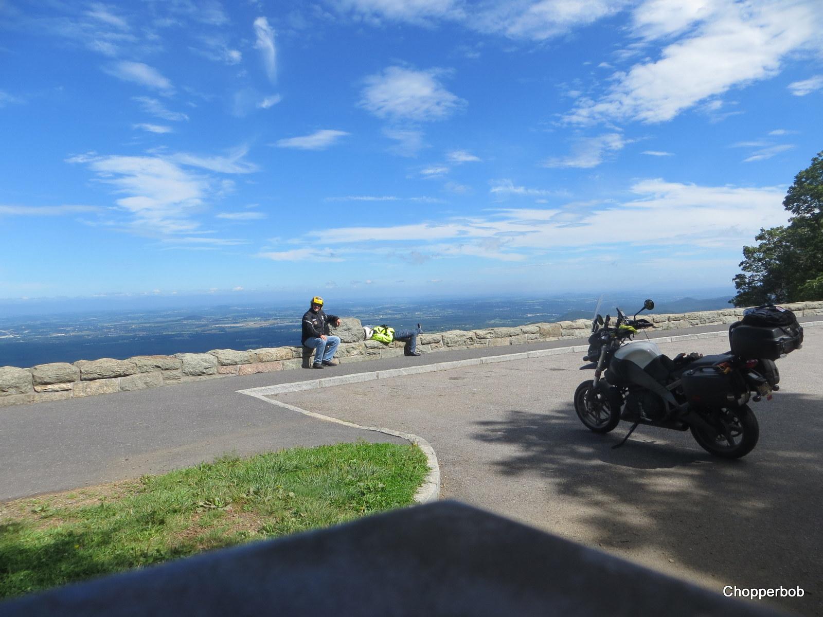 Resting on the Blue Ridge