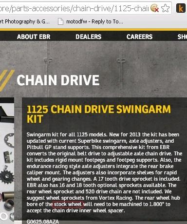 Chain Drive Add