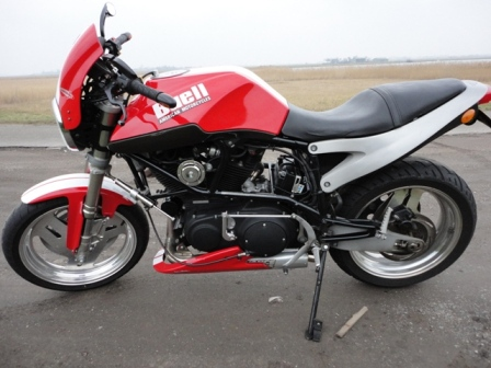This is my Buell X1 from 2000